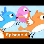Sparrows Learn To Fly | Treetop Family Ep. 4 | Super Simple Songs