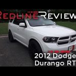 2012 Dodge Durango RT Walkaround, Exhaust, Review, Test Drive