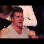 David saves Simon from choking | Britain's Got More Talent 2014