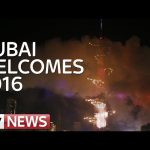 Dubai's New Year's Fireworks Display Goes On, Next To Burning Building