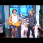Ellen Gets Andy Ready for the Sun