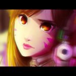 Kiwa Draws: Overwatch – D.Va SPEEDPAINT