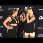 UFC 193: Media Day Face-offs