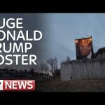 Huge Donald Trump Poster