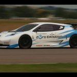 Nissan Leaf race car video review