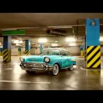 Chevrolet Bel Air Restoration – Speed art (#Photoshop) | CreativeStation
