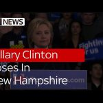 Hillary Clinton Loses In New Hampshire