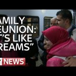 Refugee Family Reunited After Months Apart