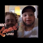 Jimmy Kimmel & His Daughter Swap Faces