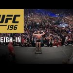 UFC 196: Official Weigh-in