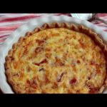 Quiche Lorraine Mother's Day Recipe – Creamy Bacon Leek Cheese Quiche