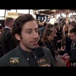 Hollywood Film Awards: Red Carpet – Simon Helberg Interview
