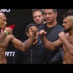 UFC 198: Weigh-in Faceoffs