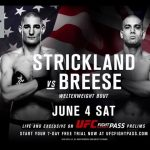 UFC 199: Strickland vs Breese Preview